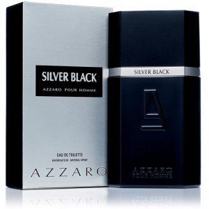 azzaro silver black men edt 100ml