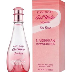 davidoff cool water sea rose caribbean summer edition 100ml