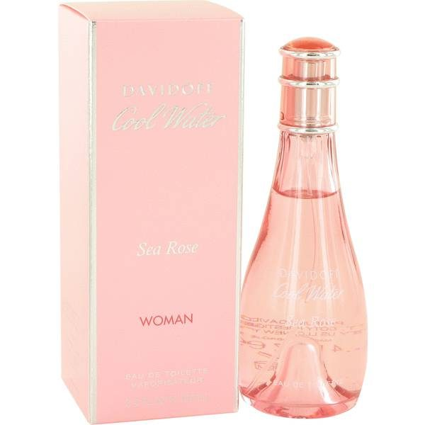 davidoff cool water sea rose women edt 100ml