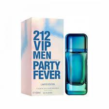 carolina herrera 212 vip party fever men edt 100ml