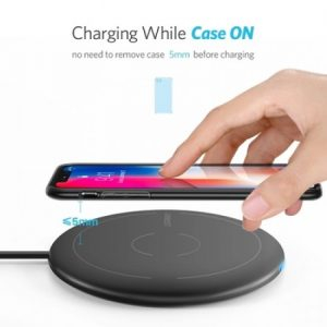 Ugreen 10W Qi Fast Wireless Charging Pad for iPhone 8/X /8 Plus & Samsung Galaxy S8/S7 /S8 +/ Note 8