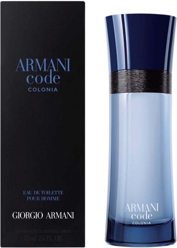 Armani code clonia men edt 75 ml