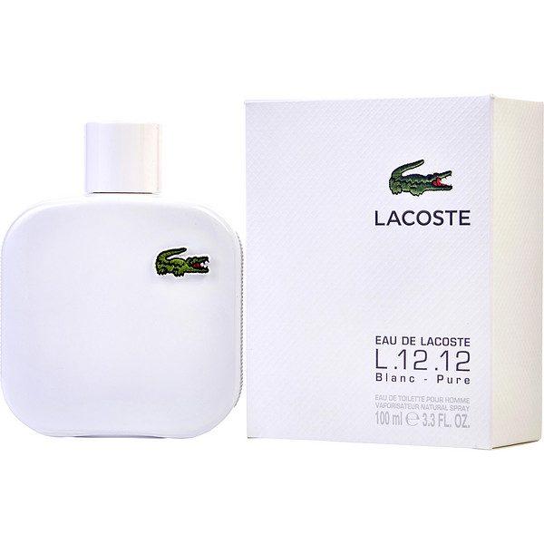 lacoste eau de blanc white men edt 100ml