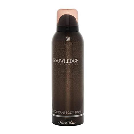 rasasi knowledge men body spray 200ml