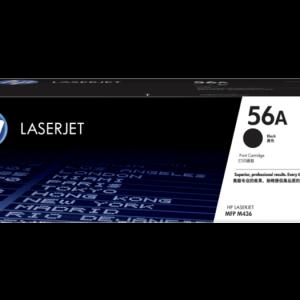 HP 56A Black Original LaserJet Toner Cartridge