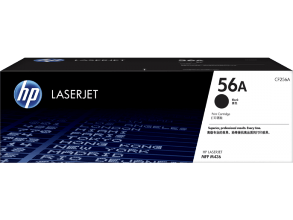 HP 56A Black Original LaserJet Toner Cartridge