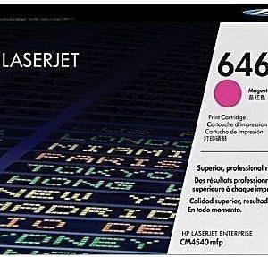 HP 646A Magenta Original LaserJet Toner Cartridge, CF033A