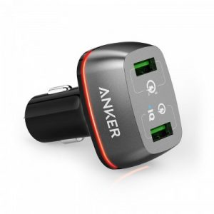 Anker PowerDrive+ 2 Ports with Quick Charge 3.0 Dual USB Car Charger