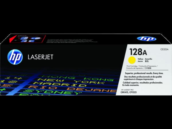 hp laser jet ce322a yellow toner cartridge