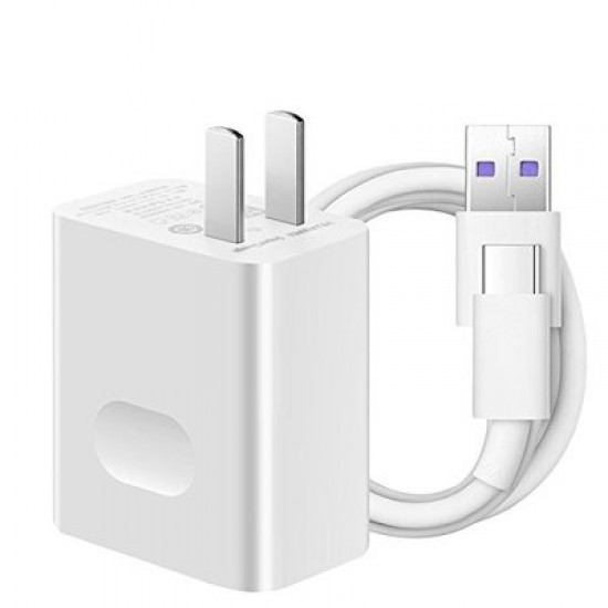 Huawei 5A SuperCharge Power Adapter Fast Quick Charger with 3.3ft USB C
