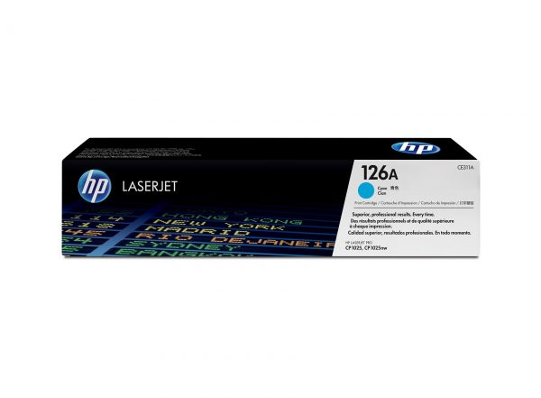 hp laser jet ce311a cyan toner cartridge