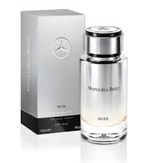 Mercedes benz silver men edt 120ml