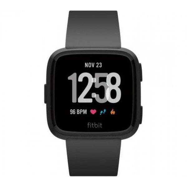 Fitbit Versa Black Band Black Aluminium Case