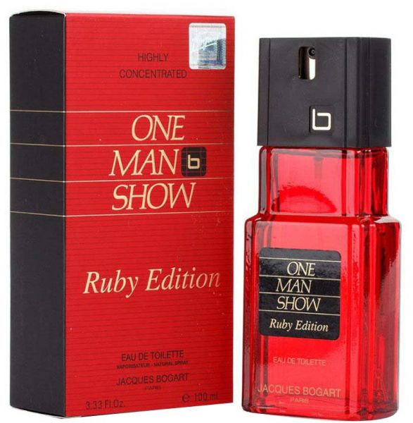one man show Red Ruby edt 100ml