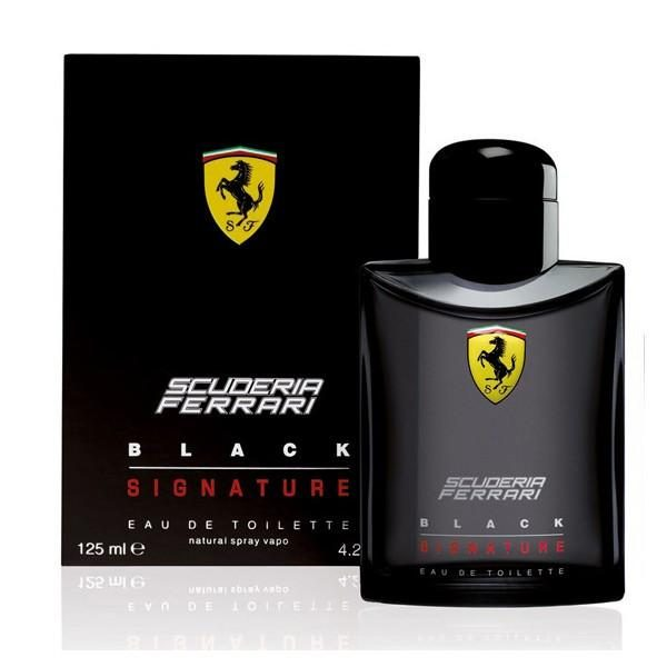 Ferrari Scuderia Black Signature Eau De Toilette For Men 125ML