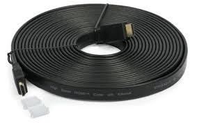 HDMI CABLE 1.4 VER 20 METER FLAT