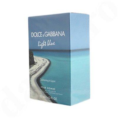 Dolce & Gabbana Light Blue Swimming in Lipari Eau de Toilette for man 125 ml