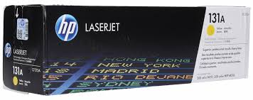 HP 131A Yellow Original LaserJet Toner Cartridge, CF212A