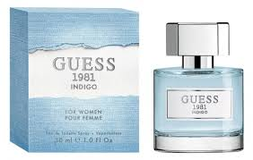 guess 1981 indigo edt 100ml women