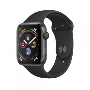 Apple Watch Series 4 40mm GPS + Cellular Space Gray Aluminum Case with Black Sport Band MTUG2