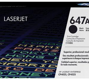 HP 647A Black Original LaserJet Toner Cartridge, CE260A