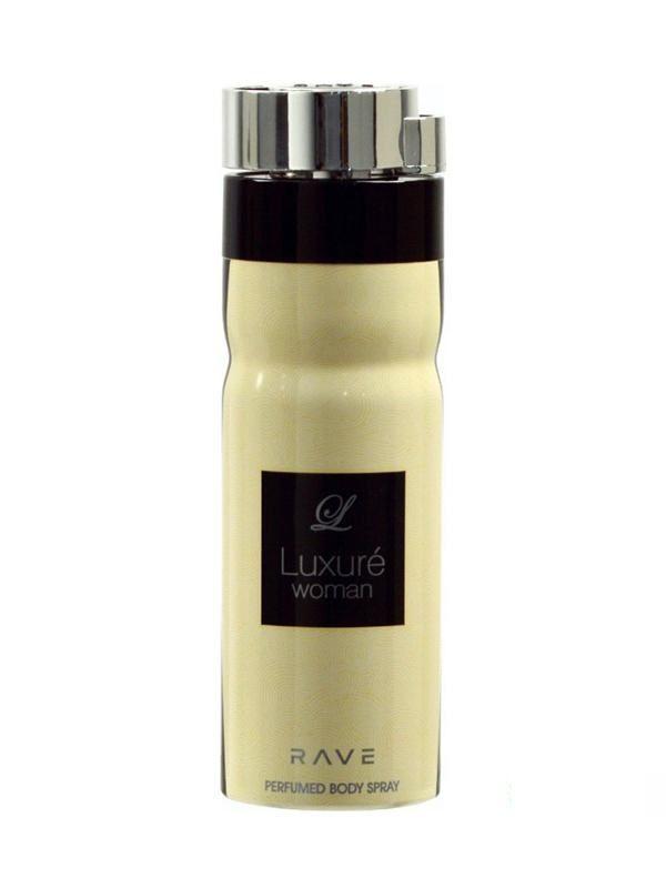 rave luxure body spray 200ml women