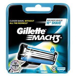 Gillette Blades Mach3 8 Pack