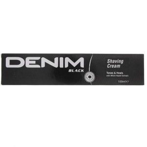 Denim Shaving Cream Black 100ml