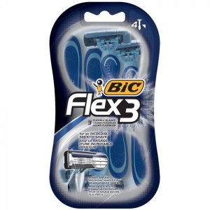 Bic Flex 3 Blades Lames Razors (3 Piece)