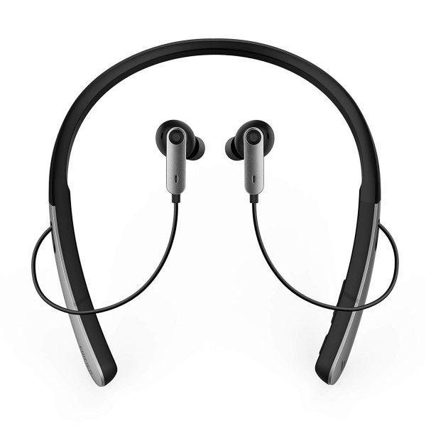 Edifier W330NB Neckband Bluetooth Headphones - Active Noise Canceling Wireless Earphones - ANC, Dual Connectivity, Voice Control
