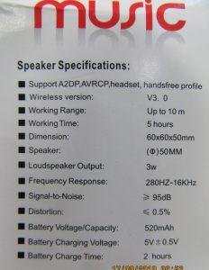 Power Portable Wireless Speaker