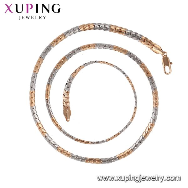 Necklace Gold & Silver No-59