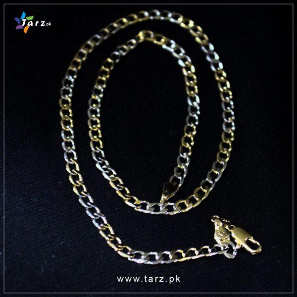 Necklace Gold & Silver No-62