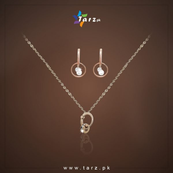 Jewelery Set 18K Gold Color No-11