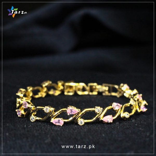 Bracelet 18K Gold Plated No 58.2