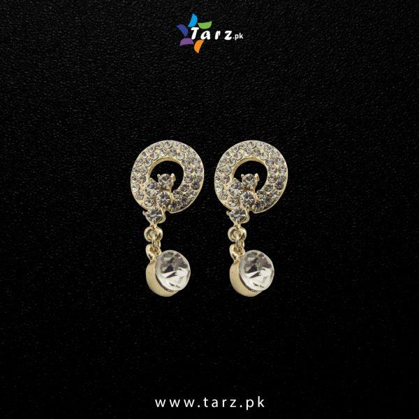 Ear Ring 18K Gold Color No-000