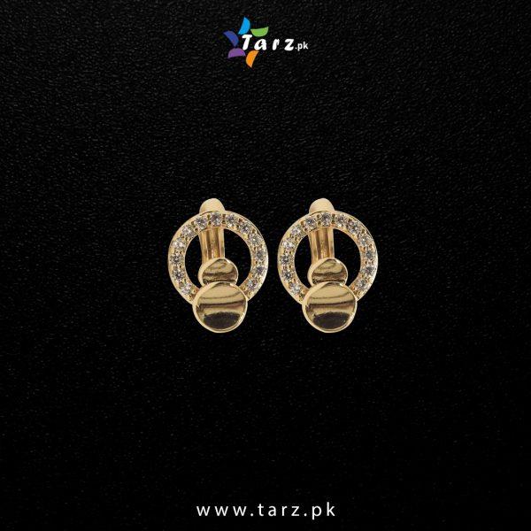 Ear Ring 18K Gold Color No-18