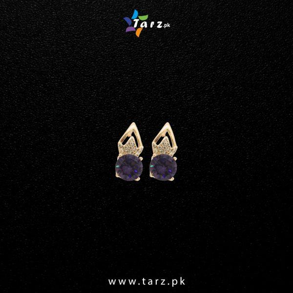 Ear Ring 18K Gold Color No-004