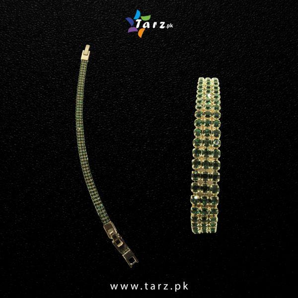 Bracelet Gold & Silver No-50.4