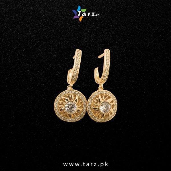 Ear Ring Gold & Silver No-20