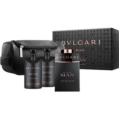 BVLGARI MEN IN BLACK SET