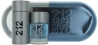 212 M 100ML + A/SHAVE LOTION SET (TIN BOX)