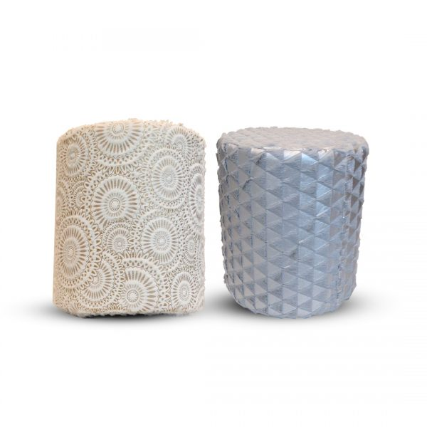 Fur Stool for Kids With Removable Soft Fabric ( 2 pairs )