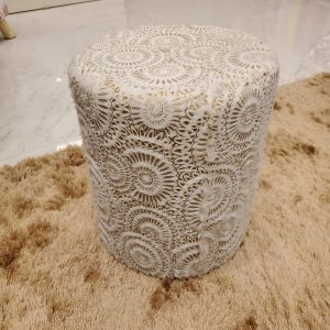 Fur Stool for Kids With Removable Soft Fabric