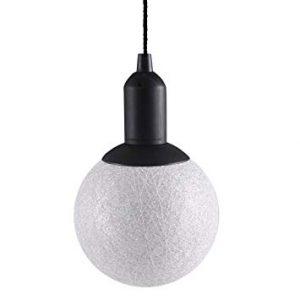 LED Cotton Ball Lamp