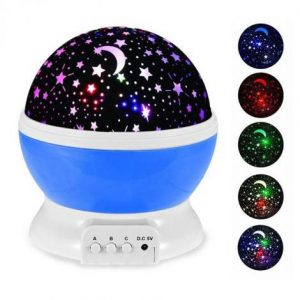LED Moon Lamp With Multicolor