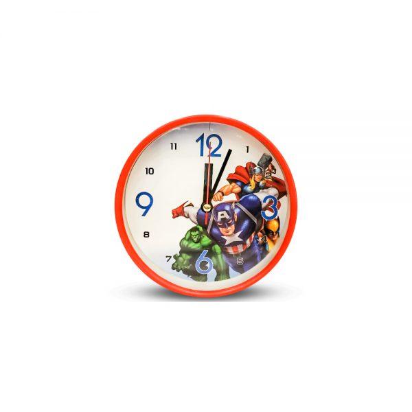 Table Clock Avengers Design ( Medium )