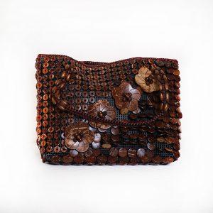 Multi-Color Buttons Ladies Hand & Shoulder Bag 44
