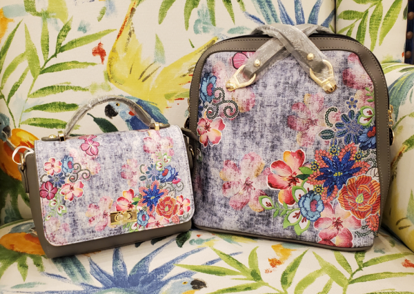 Canvas HD Digital Printing Hand & Shoulder Bag ( Pair ) 14
