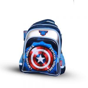 Original Disney Captian America Shield School Bag 3D